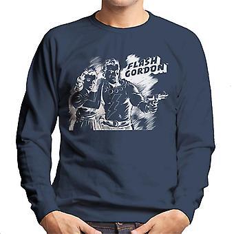 Flash Gordon Dale Sketch Art Men's Sweatshirt