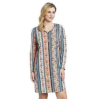 Rosch 1193625-16405 Women-apos;s New Romance Floral Multicoloured Striped Cotton Nightdress