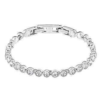 Swarovski Tennis bracelet - white - rhodio plating