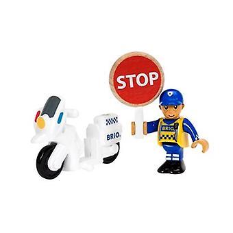 33861 de la motocicleta del policía BRIO