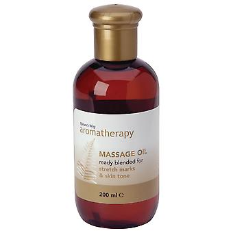Natures Way Aromatherapy Massage Oil Stretch Marks & Skin Tone 200ml