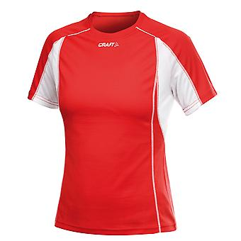 Craft T-Shirt Fitness Shirt Breathable Women's Thermo-Shirt Red