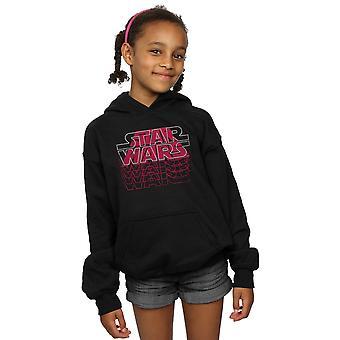 Star Wars Girls Blended Logos Hoodie