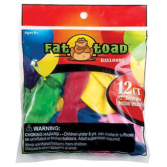 Fat Toad Latex Balloons 12
