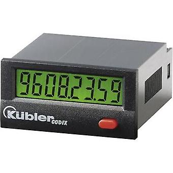 Kübler CODIX 135 HB Operating hours timer LCD