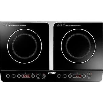 Induction hob with pot size recognition Unold Doppel Elegance 58175