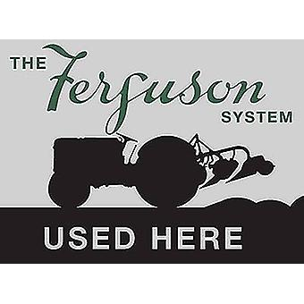 Ferguson System Used Here fridge magnet (og)