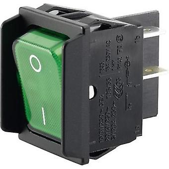 Toggle switch 250 Vac 16 A 2 x Off/On Marquardt 01835.3608-00 IP40 latch 1 pc(s)