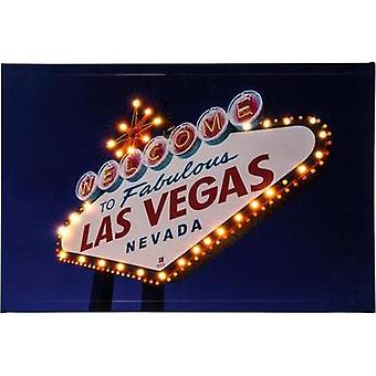 LED picture Las Vegas LED Heitronic Las Vegas 34083 Multi-coloured
