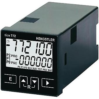 Hengstler tico 772 Multifunctional counter tico 772772 24 V/AC 2R Assembly dimensions 45 x 45 mm