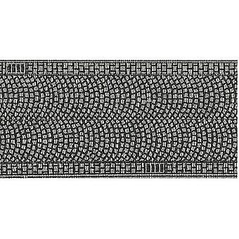 H0 Cobblestone pavement (L x W) 1 m x 50 mm NOCH 60430