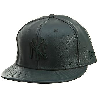 New Era 59fifty Nyyankee Leather Mens Style : Aaa215