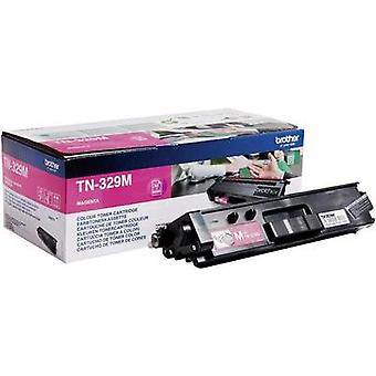 Toner cartridge Original Brother TN-329M Magenta Page yield 6000 pages