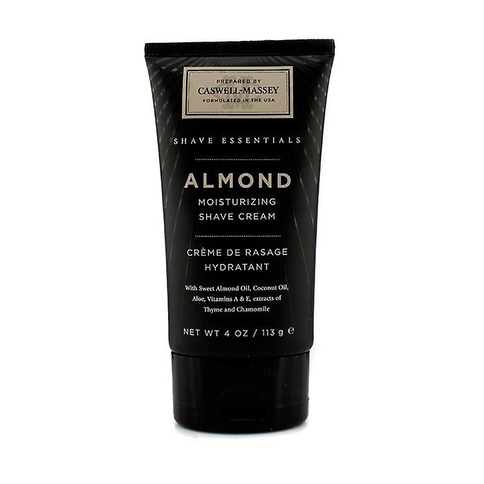Caswell Massey Almond Moisturizing Shave Cream 113g/4oz
