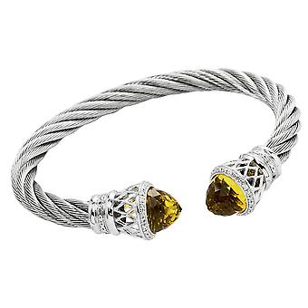 Burgmeister Bangle with Cubic Zirconia JBM3015-521