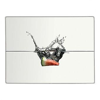 Water Melon Slice Glass Worktop Saver Kitchen Chopping Cutting Board