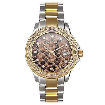Joe Rodeo diamond ladies watch - ZIBRA gold 1.25 ctw