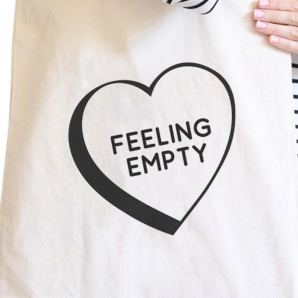Feeling Empty Canvas Eco Bag Unique Graphic Cute School Bag
