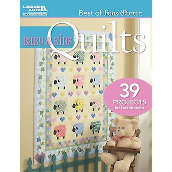 Baby & Kids Quilts (Best of Fons & Porter) (Paperback) by Fons Marianne Porter Liz