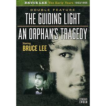 Bruce Lee - Guiding Light/forældreløse tragedie [DVD] USA import