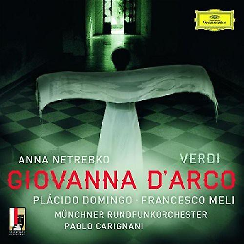Netrebko / Domingo / Carigniani - Verdi: Giovanna D'Arco [CD] USA import