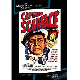 Captain Scarface [DVD] USA import