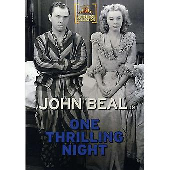 One Thrilling Night [DVD] USA import