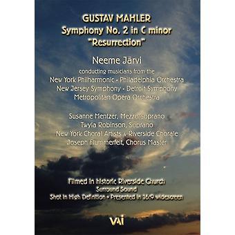 G. Mahler - Mahler: Symfoni nr 2 Uppståndelsen [DVD Video] [DVD] USA import