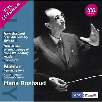 G. Mahler - Mahler: Symfoni No. 5 [CD] USA import