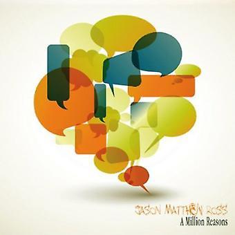Jason Matthew Ross - miljoner skäl [CD] USA import