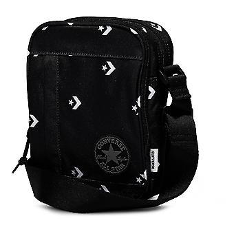 Converse Kern Poly Cross Body Bag - Star Chevron schwarz