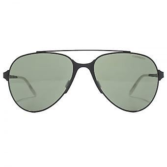 Carrera Maverick Aviator Sunglasses In Matte Black