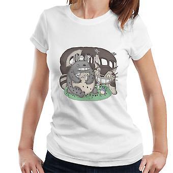 Forest Friends My Neighbor Totoro Women's T-Shirt