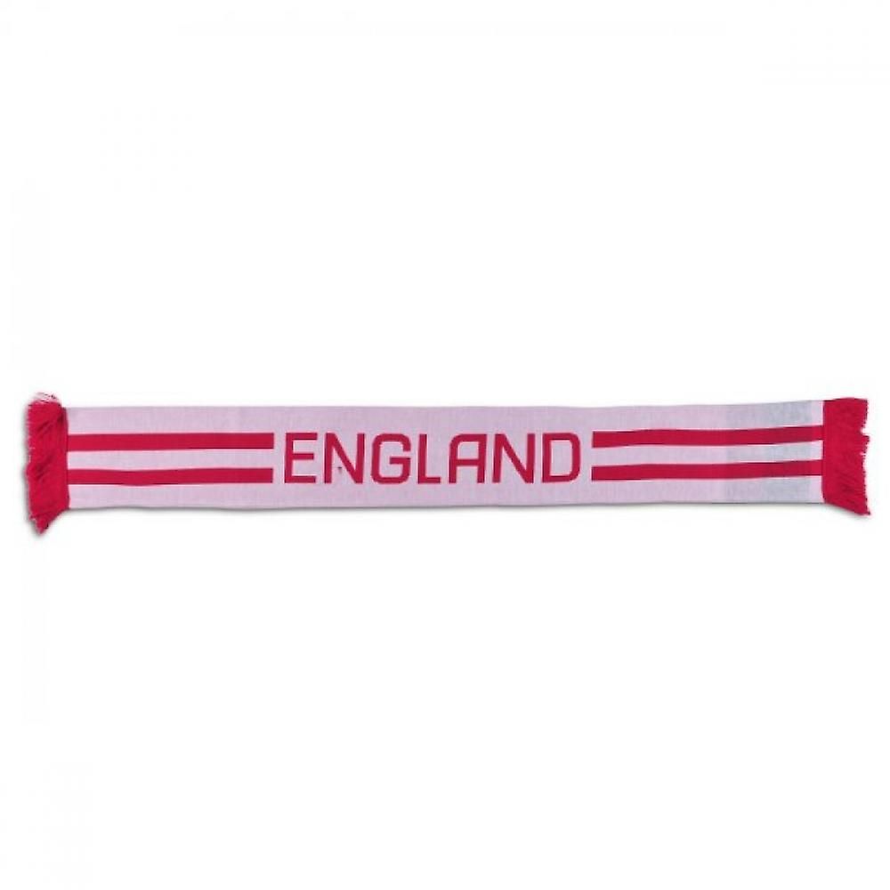 2013-14 Engeland acryl Rugby sjaal (wit)