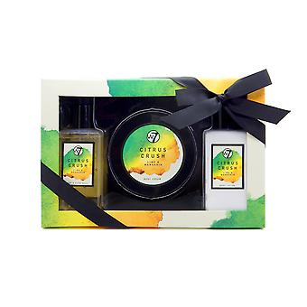 W7 Citrus Crush Lime & Mandarin Bath & Body Gift Set