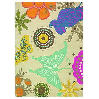 Xian Butterfly Colourful Acrylic Rug - Brink & Campman