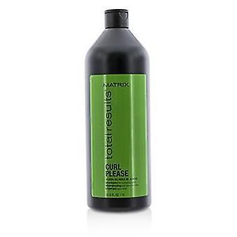 Matrix totalt resultater Curl Vennligst Jojoba oil shampoo (for pleie krøller)-1000ml/33.8 oz