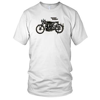 Vincent 998Cc Black Shadow Classic Motorbike Biker Mens T Shirt
