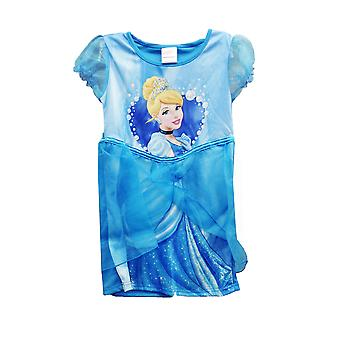 Disney Princess Cinderella Girls Blue Party Tutu Dress 3-4 Years