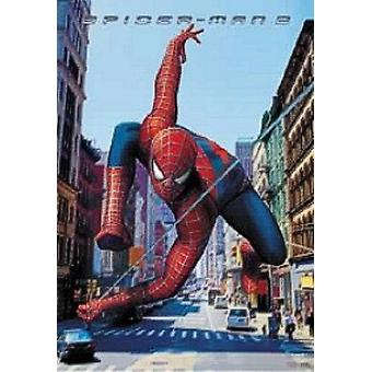 Spiderman 2 - Swinging Poster Poster Print