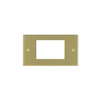 Hamilton Litestat Hartland Satin Brass 3 Euro Apert 75X50+Grid