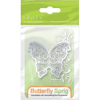 Tonic Studios Rococo Petite Die-Butterfly Sprig 177E