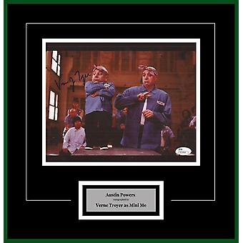 Austin Powers - Signed by Verne Troyer - Framed Artist Series
