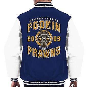 District Nine Fookin Prawns Varsity Logo Men's Varsity Jacket