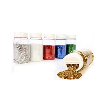 SALE -  250g Shaker of Green Glitter Flakes for Crafts | Craft Glitter