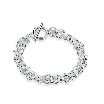Womens Ladies Intricate Chain Bracelet in Modern Design