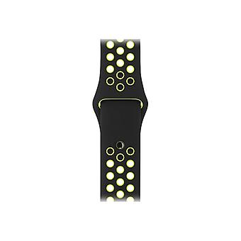 Apple 42 mm sport Bands-Small/Medium-Medium/Large & klockrem-maat S/M/L-black/volt-Watch (42 mm)