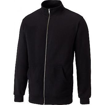 Dickies Mens Edgewood Polycotton Funnel Neck Full Zip Sweatshirt