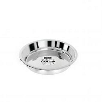 Fed 'N' Watered Stainless Steel Kitty & Puppy Flat Pans