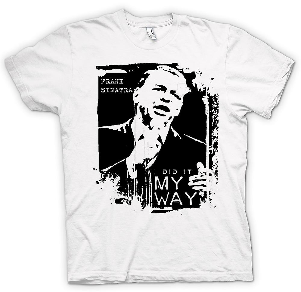 Mens t-shirt - Frank Sinatra My Way - Swing